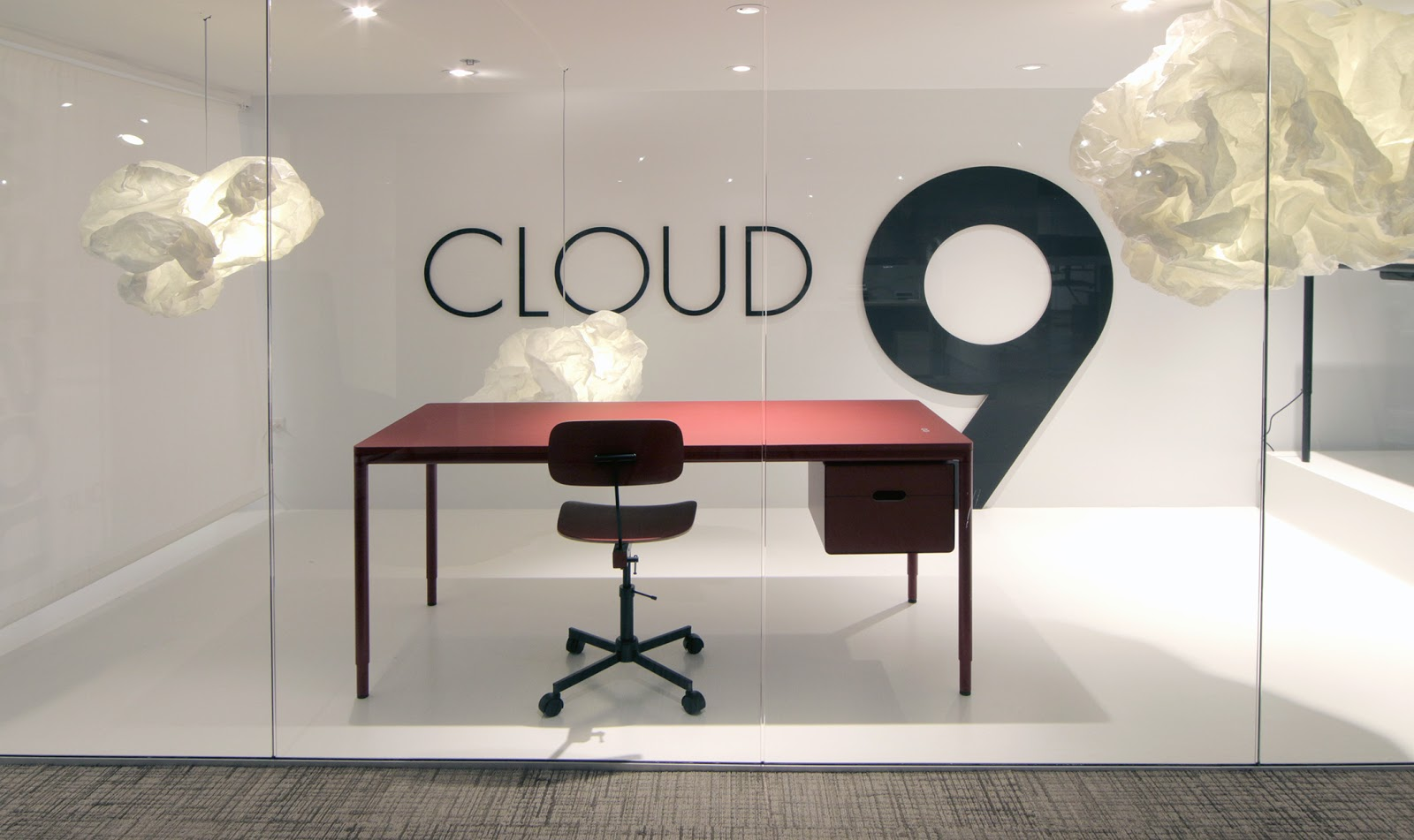 Cloud 9 in the the NeoCon Showroom