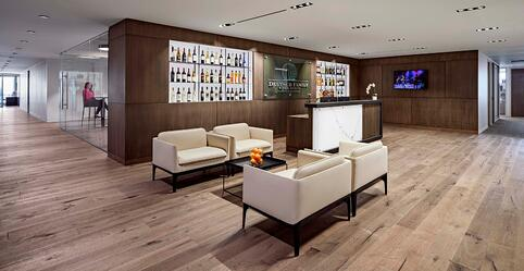 Deutsch Family Wine & Spirits Office Interior Design
