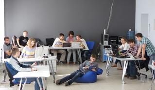 workspace flexibility and mobile furniture