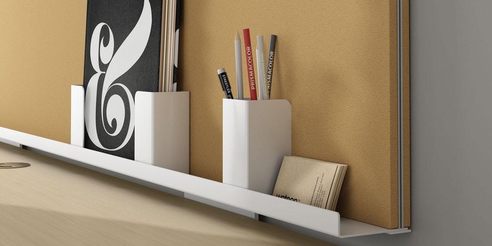 Seiri Screen & Bins (Environmentally Friendly Office Furniture)