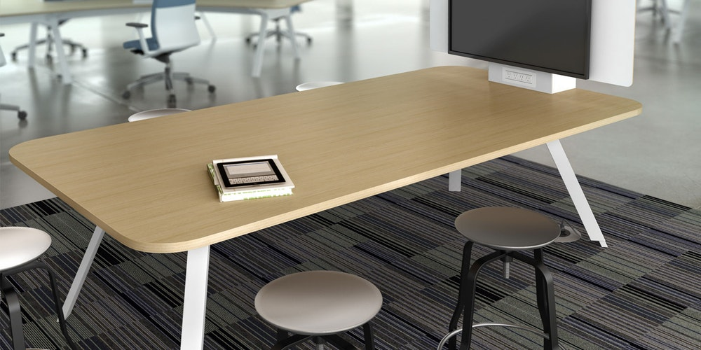 Tonic Simple Table (Office Furniture from Recycled Materials)