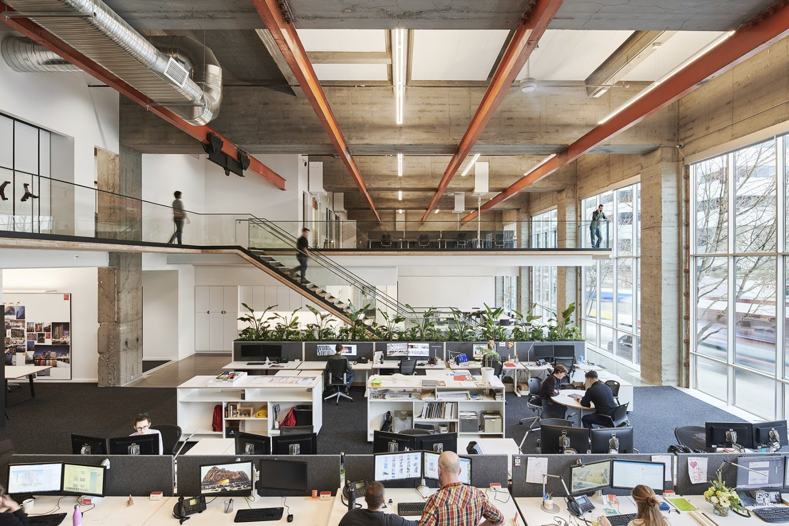 SRG Architects, Portland, OR. Workstations by Watson